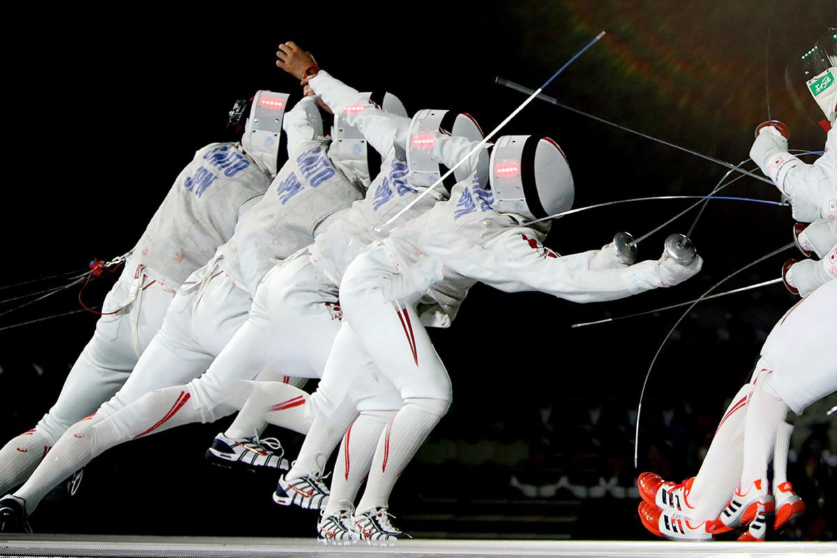 シュガーレディは、フェンシング日本代表選手を「食」で応援しています。