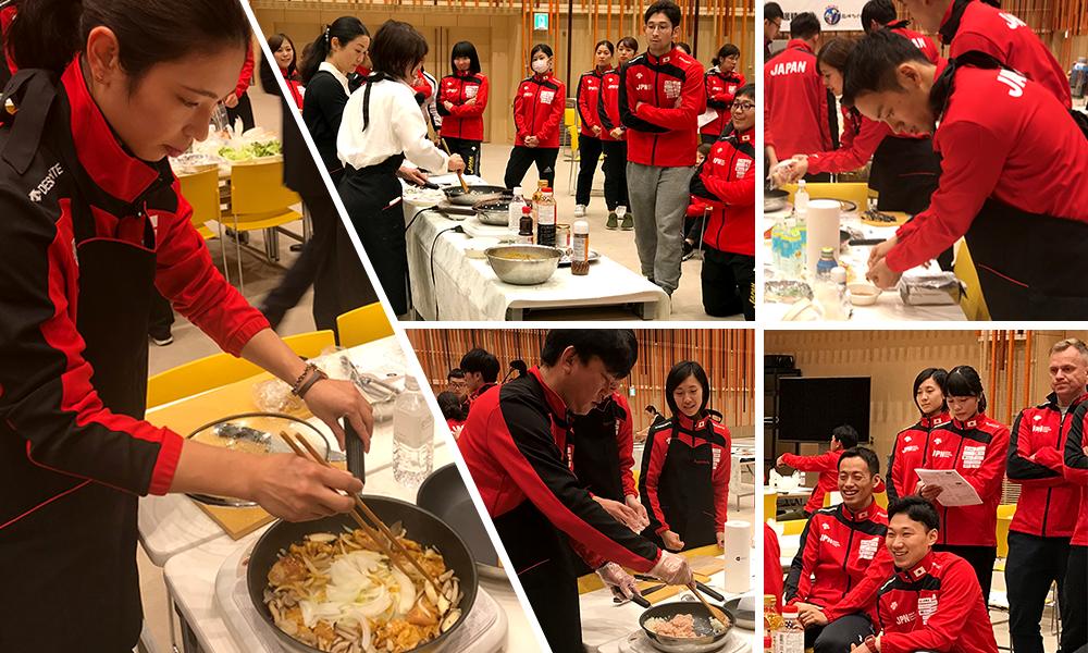 フェンシング日本代表チームの強化合宿に『食のサポート』として参加しました。