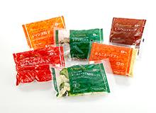 オーガニック野菜商品パッケージ